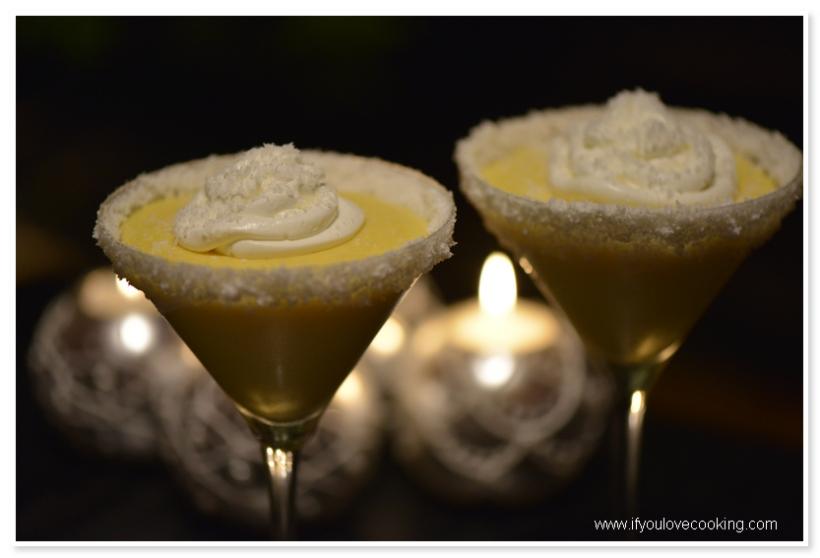Crema de mango si fructul pasiunii
