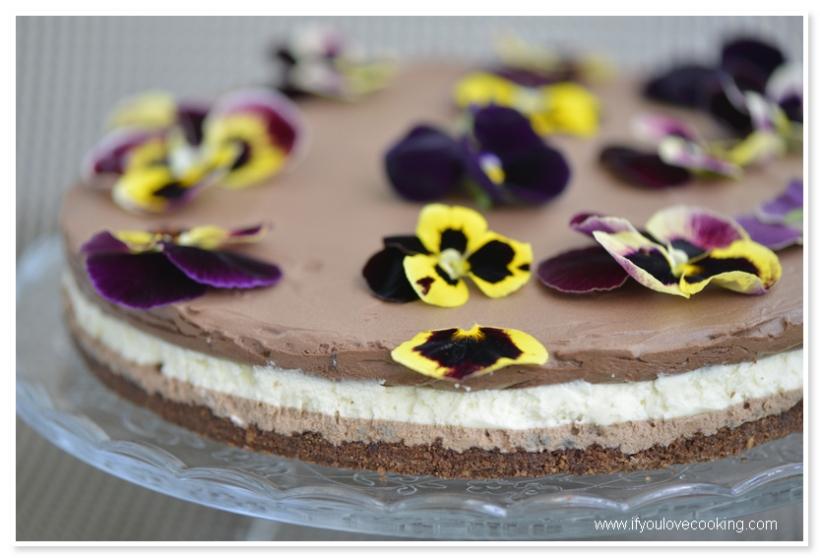 Tort cu 3 mousse-uri de ciocolata_1