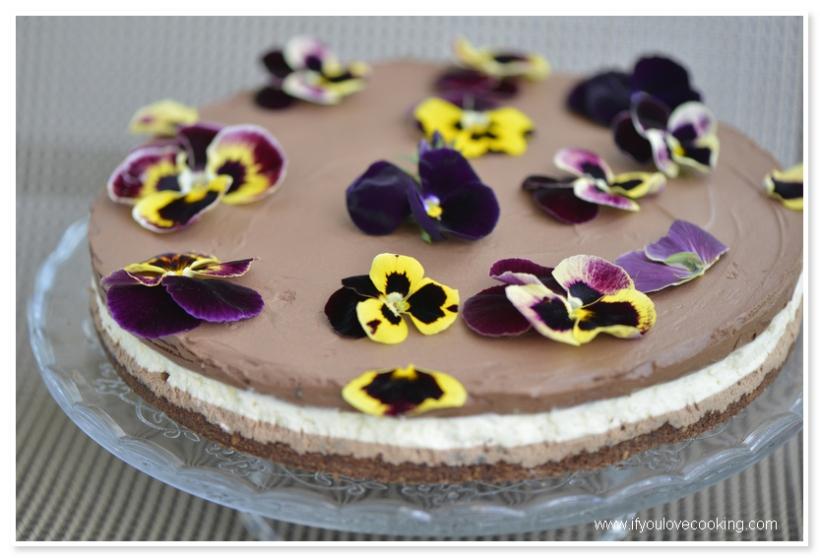 Tort cu 3 mousse-uri de ciocolata_2