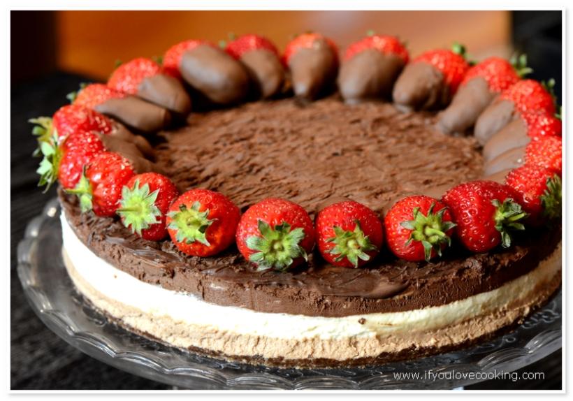Tort cu 3 mousse-uri de ciocolata_3