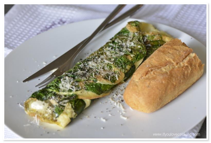Omleta cu spanac Lulu_2