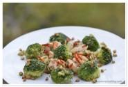 Creveti cu usturoi, broccoli si seminte de pin_3