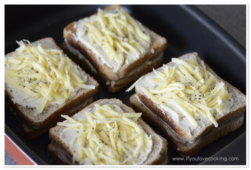 Croque Monsieur 5