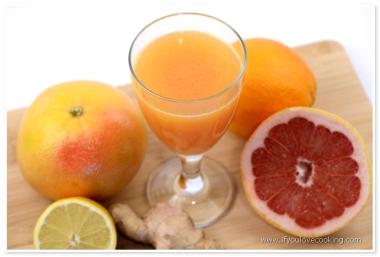 Grapefruits, portocale & ghimbir Juice_1