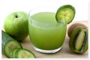 Kiwi, mere & castraveti Juice
