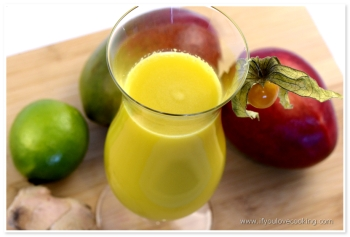Mango, ghimbir & lime juice_1