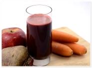 Sfecla rosie, morcovi & mere