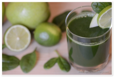 Spanac, mar & lime juice_1