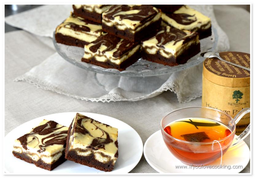 Prajitura Brownies Tiramisu