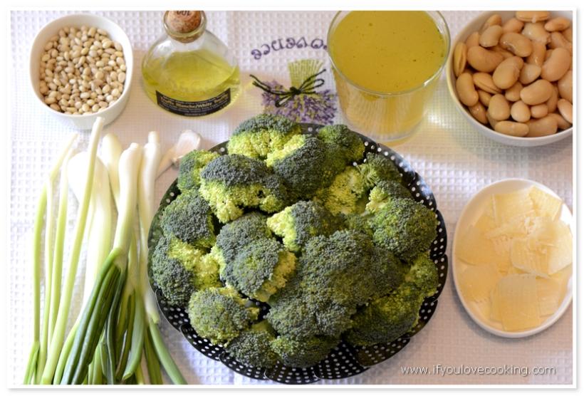 Supa crema de broccoli si fasole_1