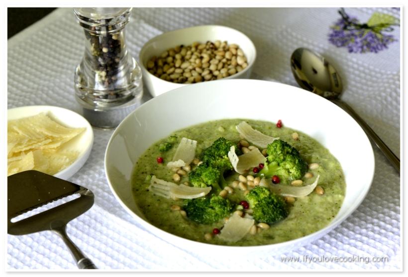 Supa crema de broccoli si fasole_2