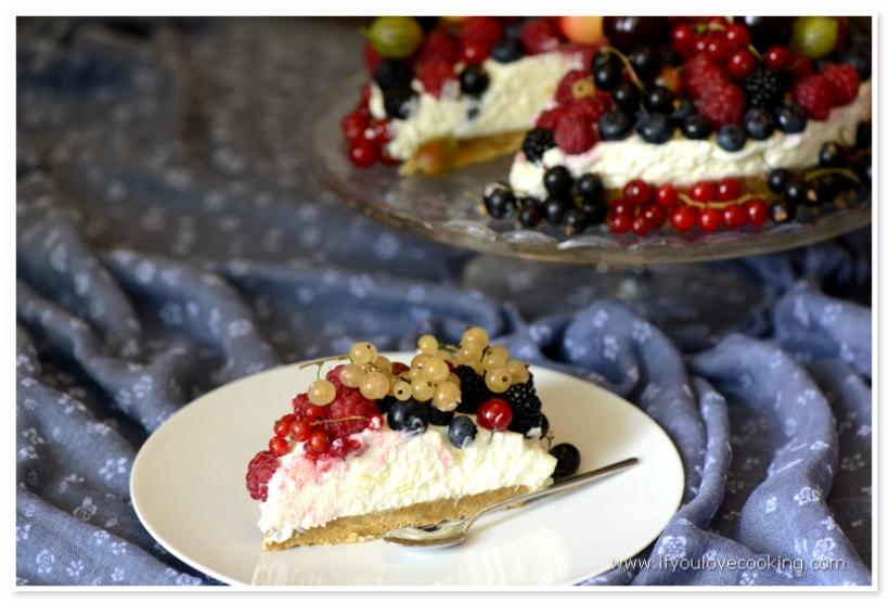 Cheesecake cu fructe_1