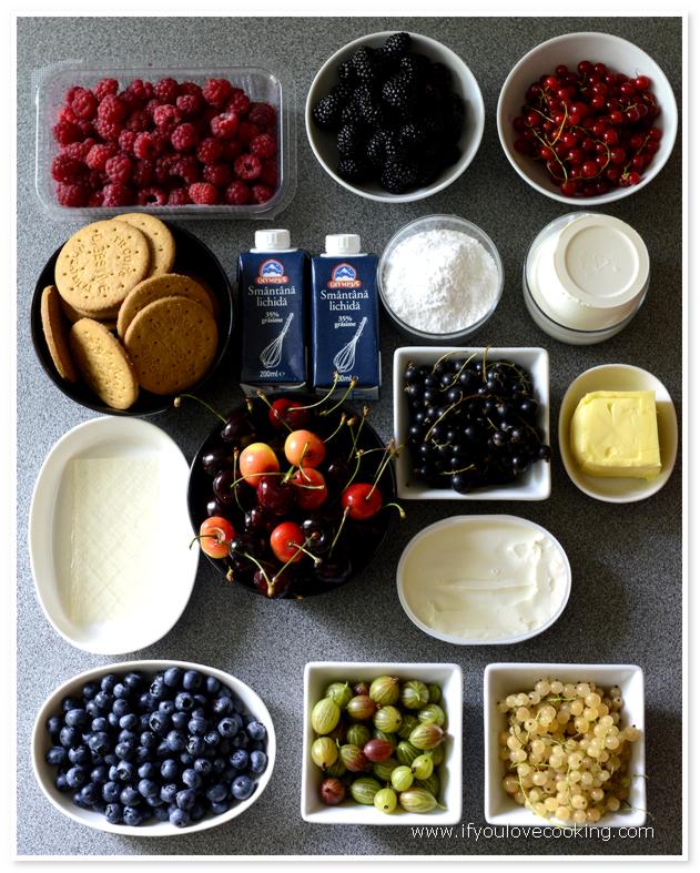 Cheesecake cu fructe_2