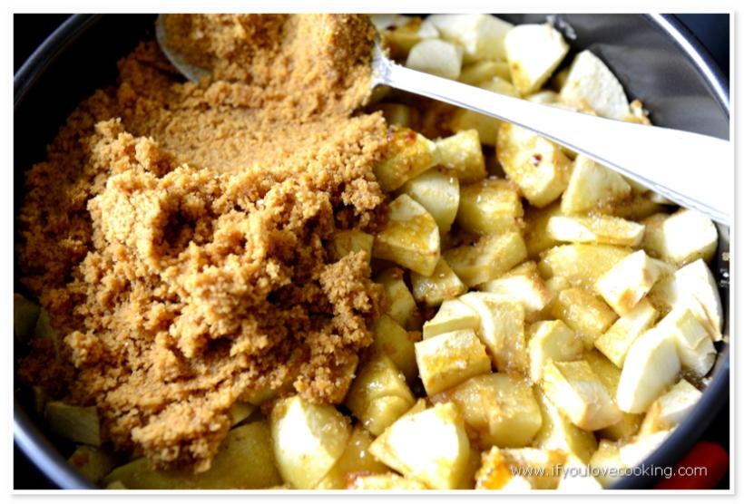 Tarta cu mere si biscuiti_3