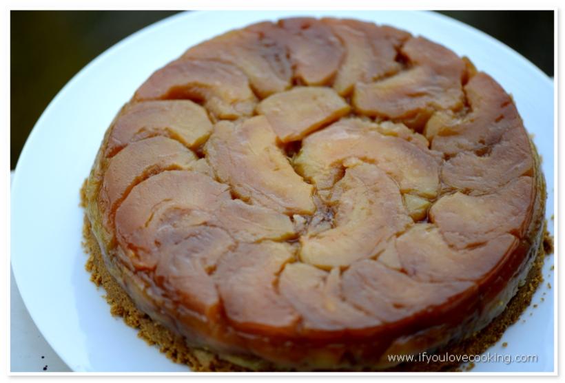 Tarta cu mere si biscuiti_5