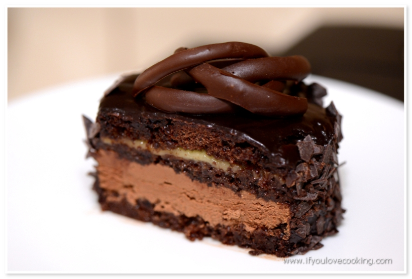 Mini tort cu ciocolata si martipan_1