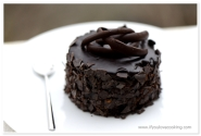 Mini tort cu ciocolata si martipan_7