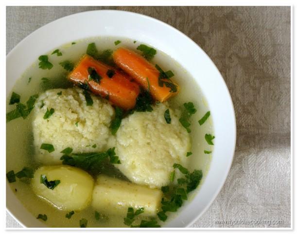 Supa de pui cu galuste_2