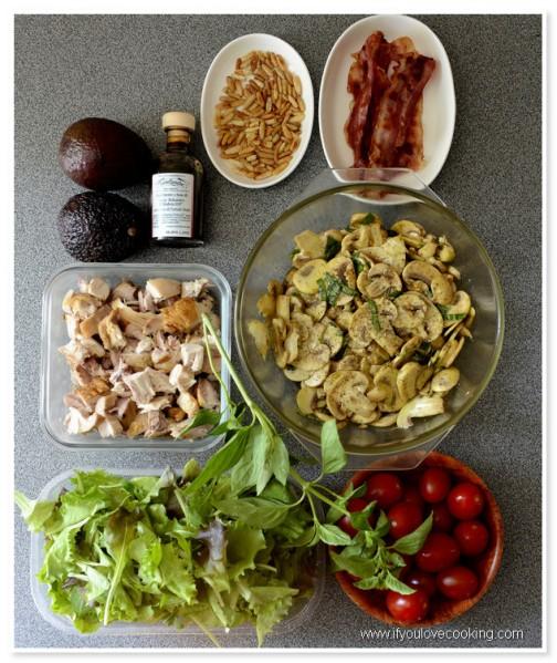 Salata de pui cu ciuperci marinate_1